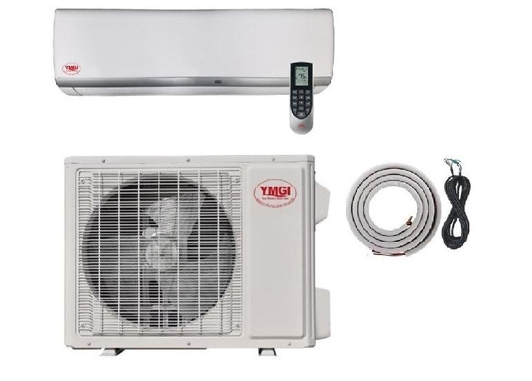 YMGI 36000 BTU Ductless Mini Split Air Conditioner Heat Pump Wall Mount
