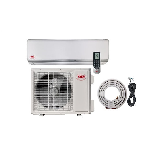 YMGI 24000 BTU Ductless Mini Split Air Conditioner Heat Pump Wall Mount