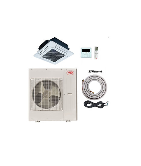 YMGI 48000 BTU Ductless Mini Split Air Conditioner Ceiling