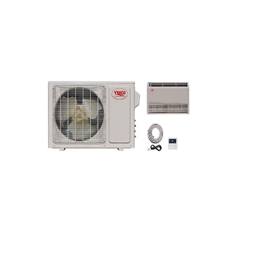 YMGI 24000 BTU Ductless Mini Split Air Conditioner Floor Ceiling Mount