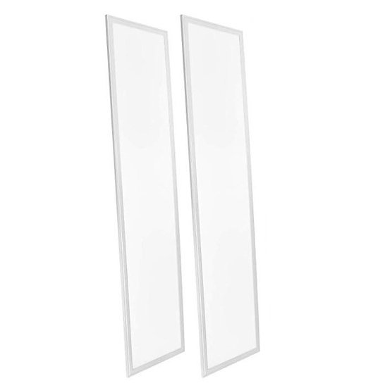 YMGI LED Panel Light 1'X4' 5000K Cool White  40W  Dimmable 2 Pack