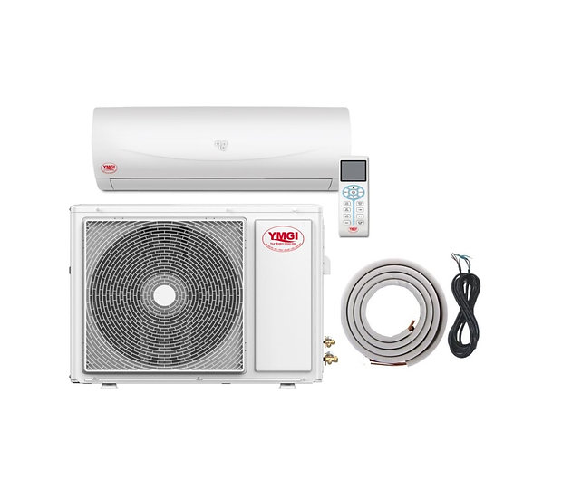 YMGI 24000 Btu Ductless Mini Split DC Inverter Air Conditioner Heat Pump
