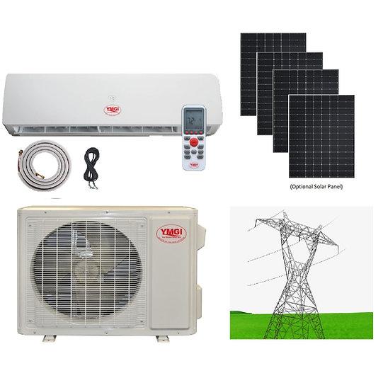 YMGI 9000 BTU Solar Assist Ductless Mini Split Air Conditioner Heat Pump