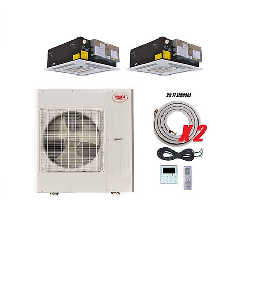 YMGI 48000 BTU 21 SEER DUCTLESS MINI SPLIT AIR CONDITIONER
