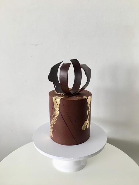 Chocolate Ganache Bespoke Cake