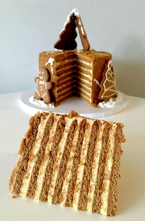 Festive Russian Honey Cake