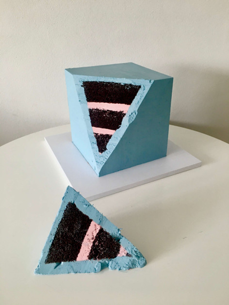 Cube Cake