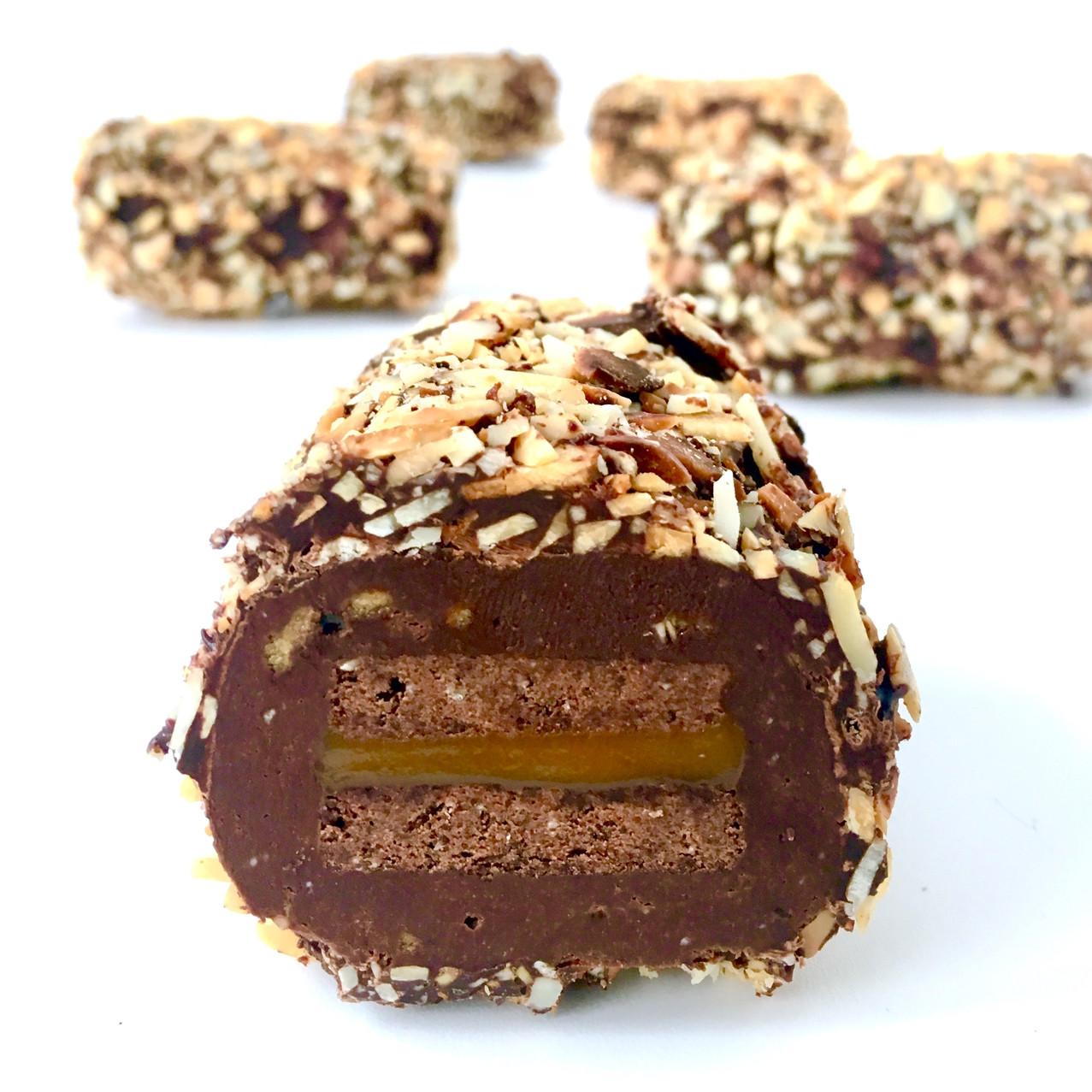 Praline Caramel Biscuit