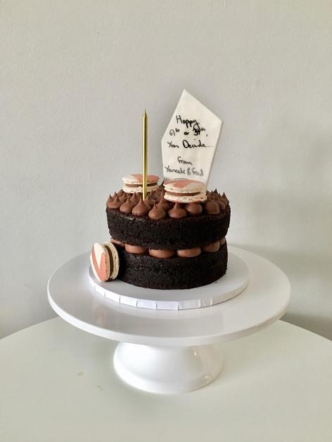 Chocolate Deli-Style Cake