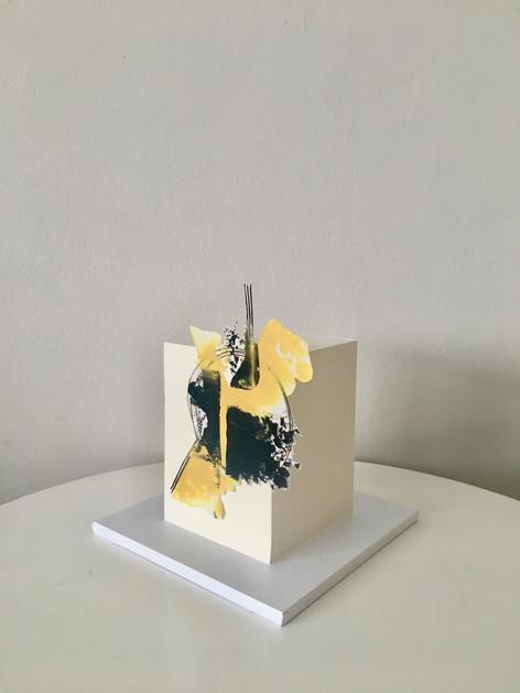 Square Cake Abrstract Cake 2