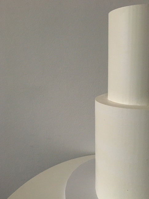Blank Canvas Wedding Cake