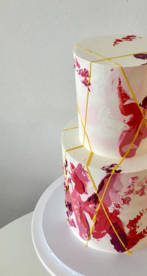 2 Tiered Anniversary Cake