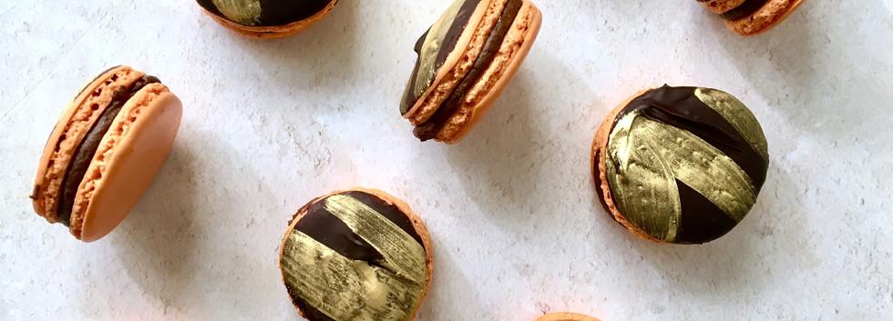 Jaffa Cake Macaron
