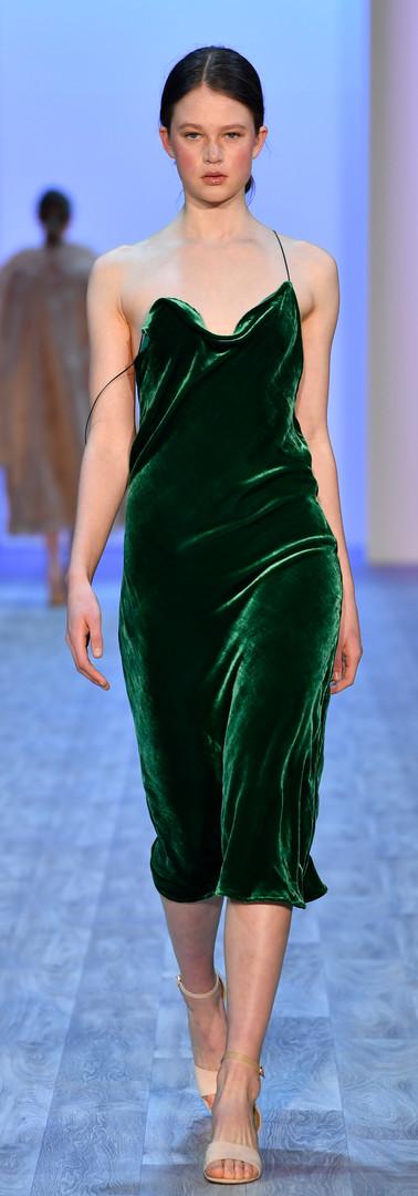 Silk velvet bias slip Photo by Getty Images