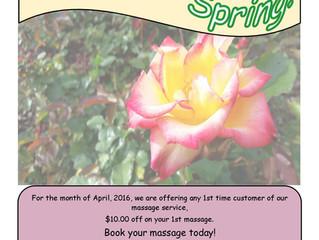 Ease Into Spring!
