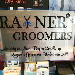 _raynersgroomers #displaysign #acrylic #qualitysigns #workstyle