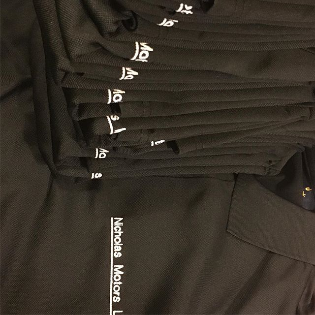 Another happy customer #bemoreprofessional #workwear #uniforms #tshirtdesign #embroidery