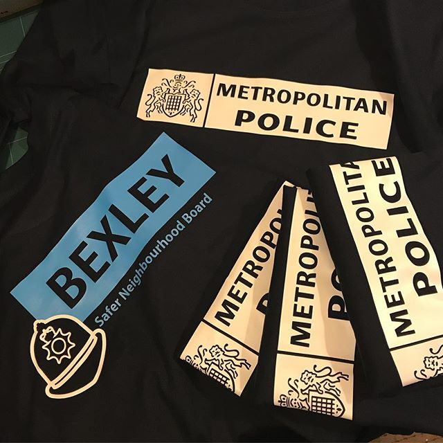 #police #workshopcloths #meninuniform #qualitywear #customtshirts #tshirtprinting #londonfashion #gi