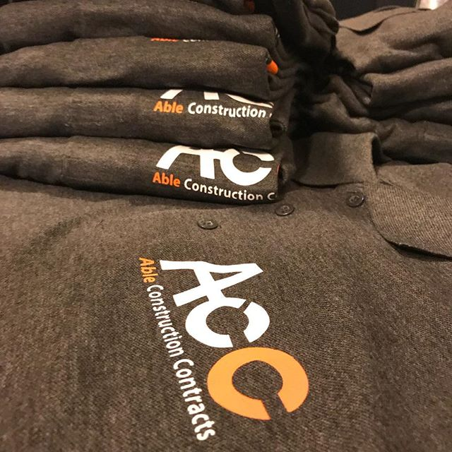#accconstruction #workuniform #workwear #professional #getyours #tshirtprinting #qualityuniforms