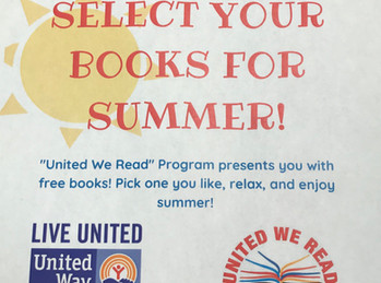 Select Your Books for Summer!