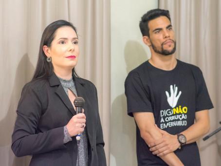 Fiscaliza Brasil e Patrícia Domingos denunciam falta de transparência na Prefeitura do Recife à CGU.