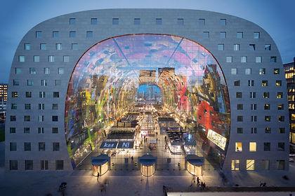 Markthal Rotterdam, MVRDV, Mercado Róterdam, arquitectura Holanda, Gaceta Holandesa, Noticias sobre Holanda en español, Alejandra Mahiques, actualidad holandesa