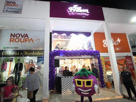 Inauguração da Top Frozen Dom Pedro