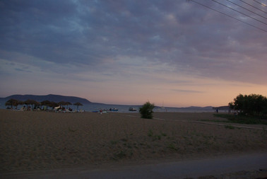 The sunset in Thines!!!