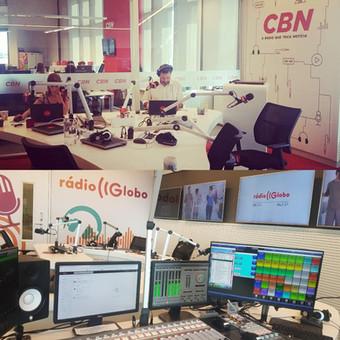 CBN e Rádio Globo