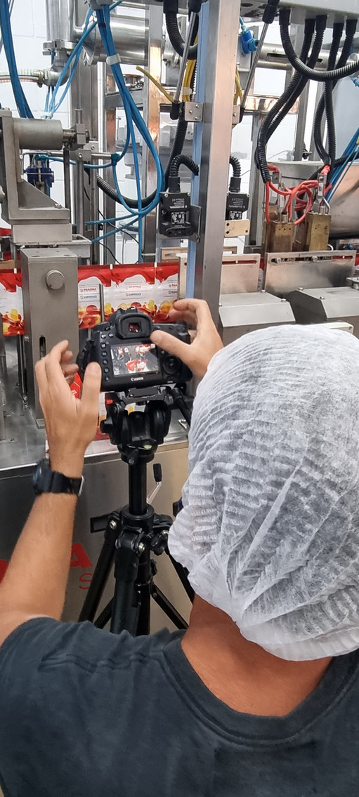 Incubapack - Filmagem