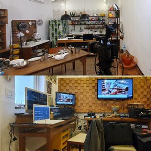 Live Streaming em Estúdio Cozinha