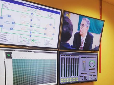 Infraestrutura da CBN e Rádio Globo