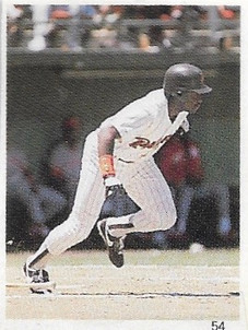 1989 Red Foley Stickers #54