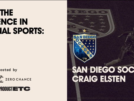 Designing the Fan Experience: San Diego Sockers