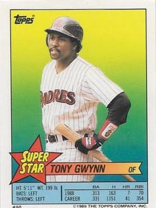 1989 Topps Sticker Backs #50