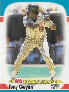 1989 Fleer Heroes of Baseball #20