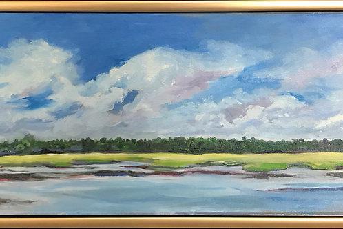Across the Marsh at Oak Creek