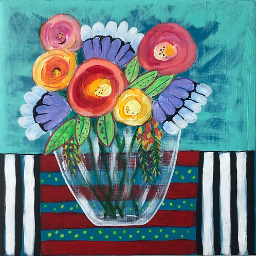 Still Life with Stripes
