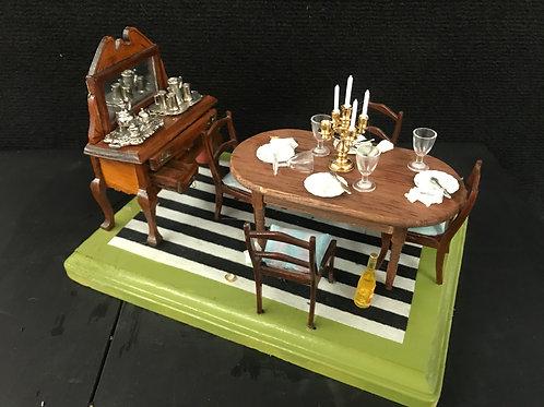 Post Prandial Dinner Table Desertion