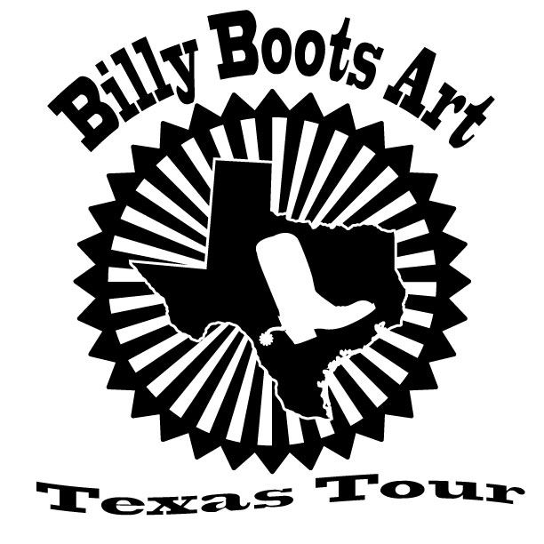 Billy Boot Art Texas Tour