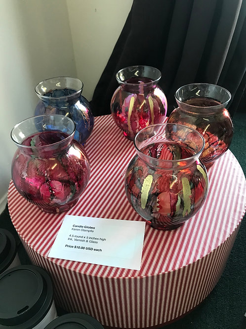 Various Candle Globes