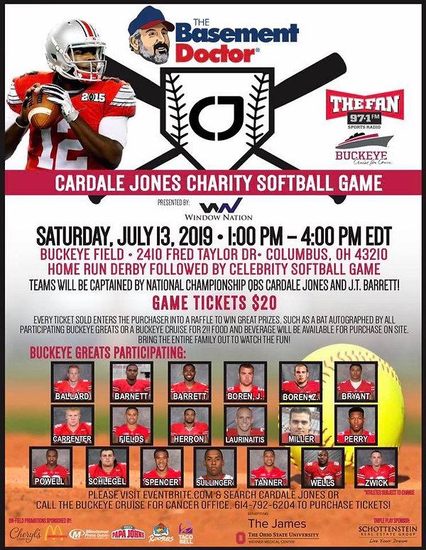 Cardale Jones Charity Softball Game