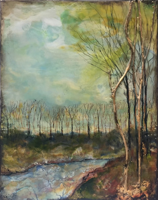 Fairies on the stream.  Great Hollow Preserve. Sherman, CT $550.00