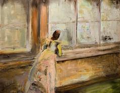 La Femme a la Fenetre ( The Lady on the Window)