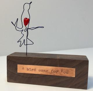 A bird song for you