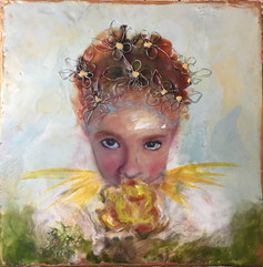 My Garden.  Available at The Hen's Nest Gallery.