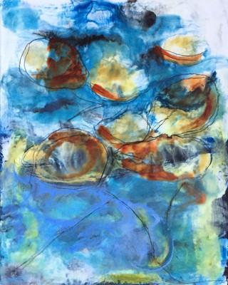 Abstract Lilies III