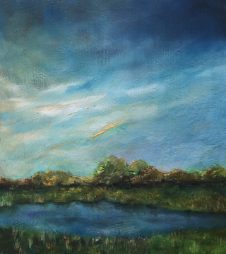 Late by the Meadows (SOLD)
