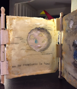 Ragazza et Luna art story book
