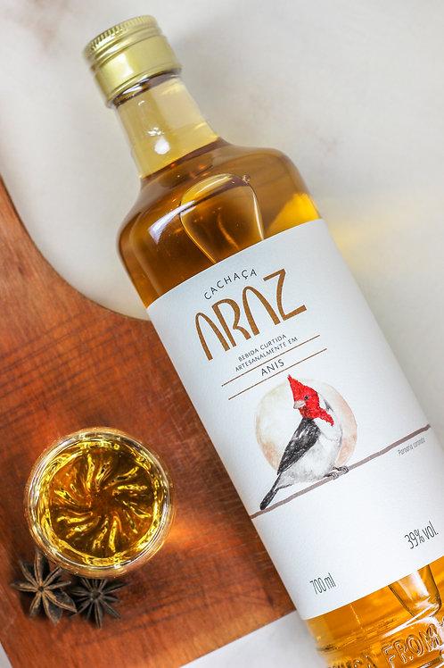 Cachaça Artesanal - ARAZ - Anis